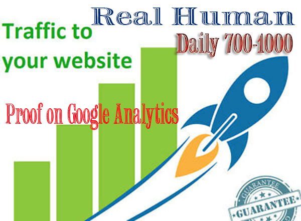 Unlimited Real Human Traffic from Top Social Sites for 3 month