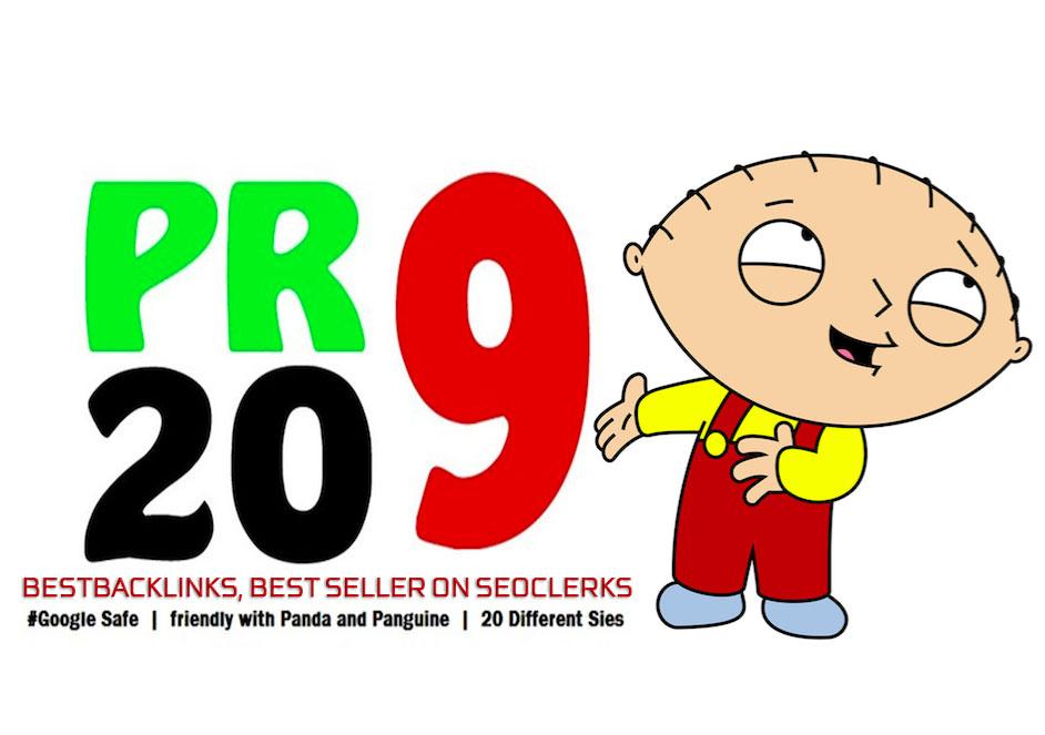 Provide 80+ DA 20 Pr9 High Quality SEO Domain Authority BACKLINK