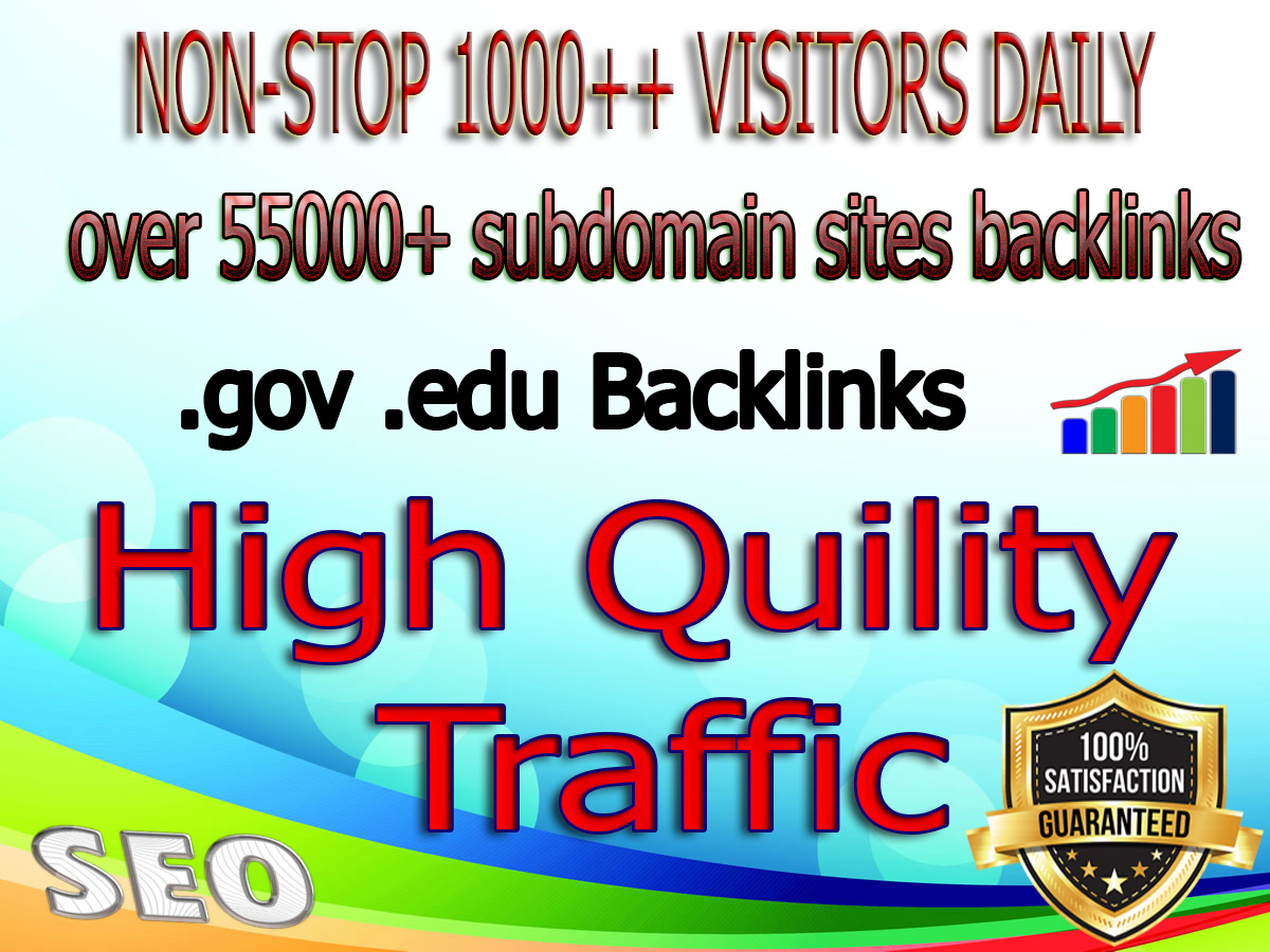 Country Targeted 6 Months 1,000+ or unlimited Real Human Traffic From search engine & Blog