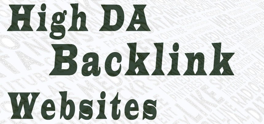 Get 150 Backlinks from Top DA sites increase Your DA