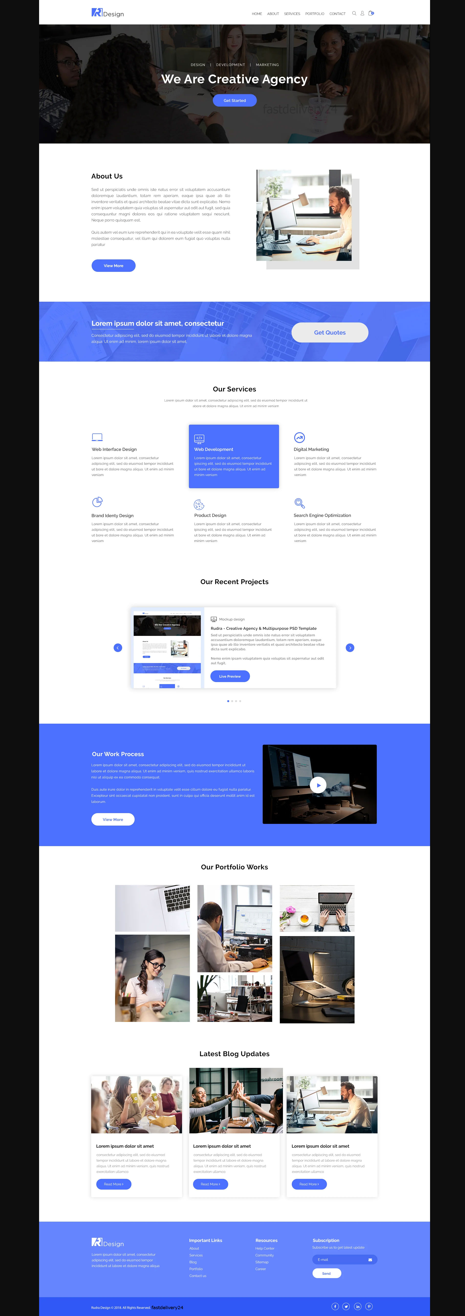 Convert Sketch,  Xd,  Psd To Html Bootstrap4 Responsive