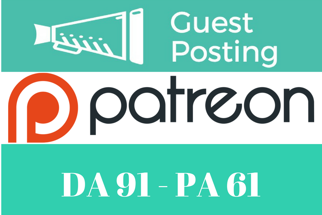 Publish Guest Post On Patreon.com DA 91