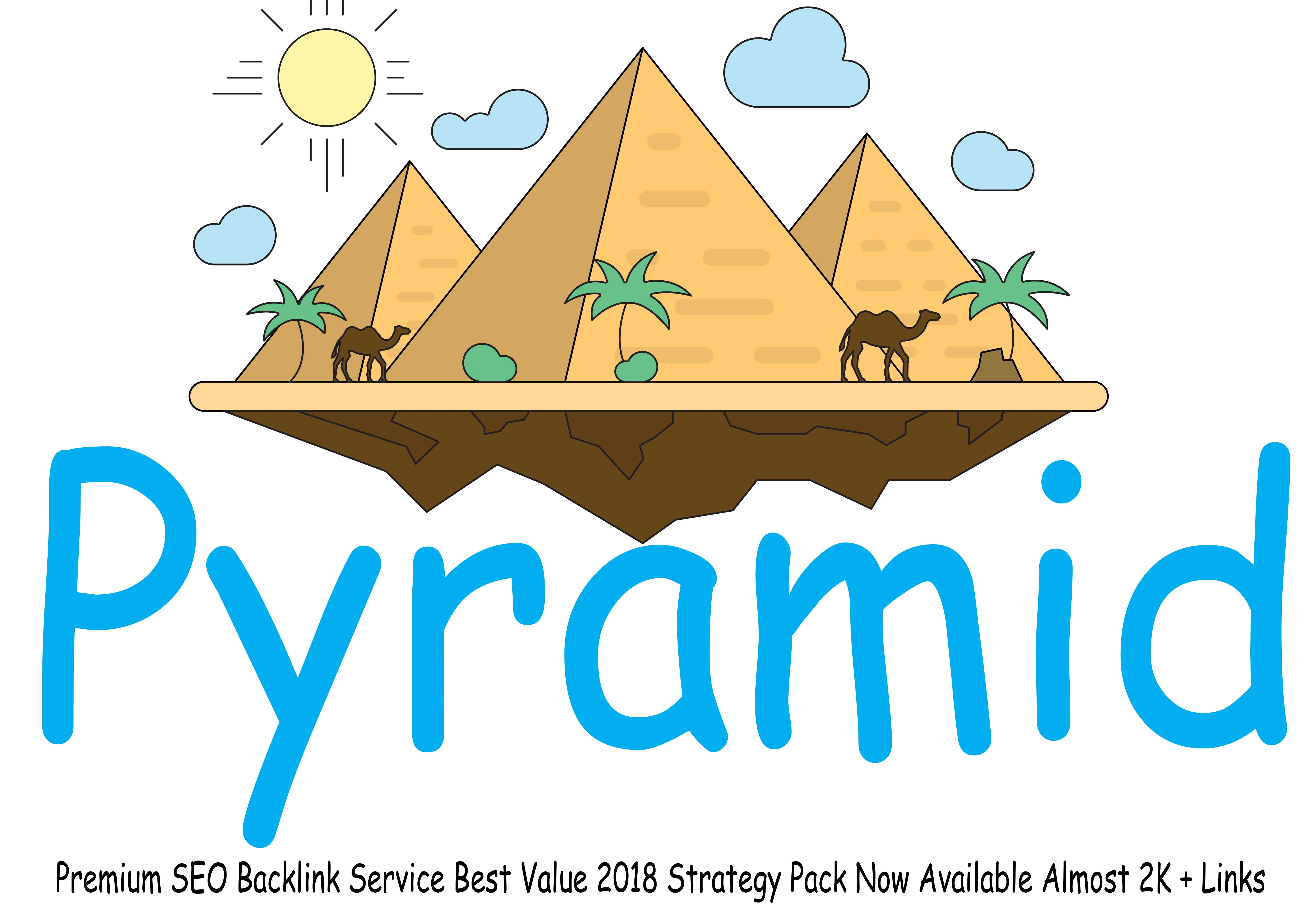 Powerful Ranking Pyramids SEO Backlink Service Best Value 2018 Strategy with log in details report