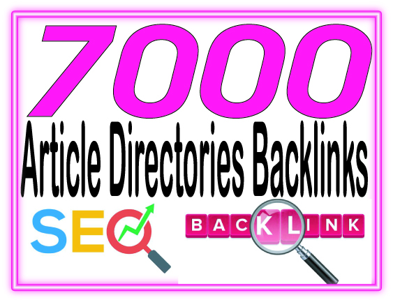 Do 7000 Unique Article directories backlinks To Rank ...