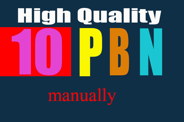 10 High Quality PA DA TF CF PBN Backlinks