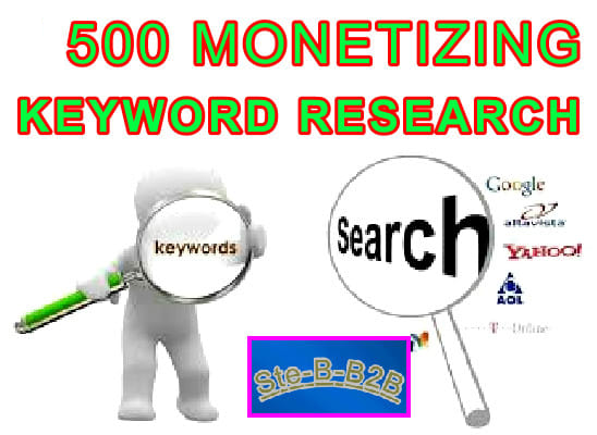 Research 500 Profitable SEO Keywords