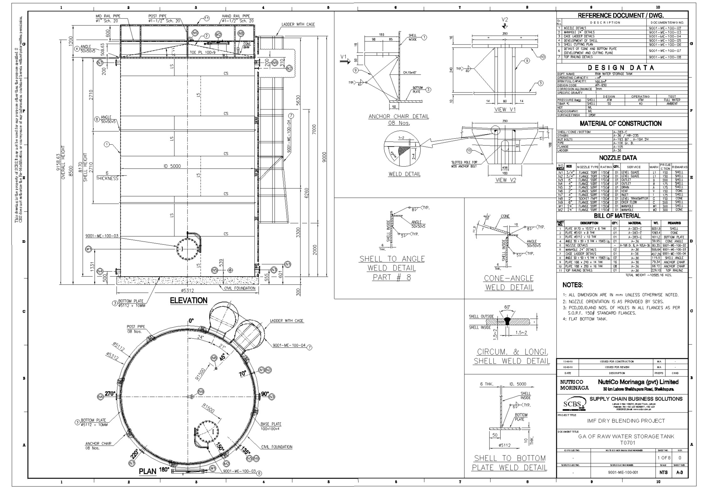 Project and design products using Autocad, Plant 3d