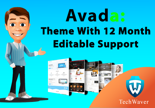Get the AVADA WordPress theme with free 1GB hosting support for 1 year
