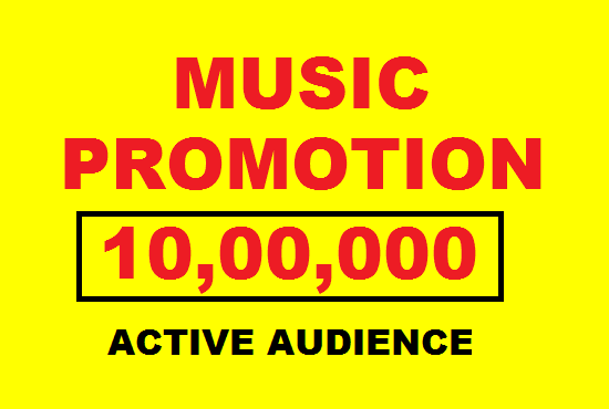 organic music track promotion for you