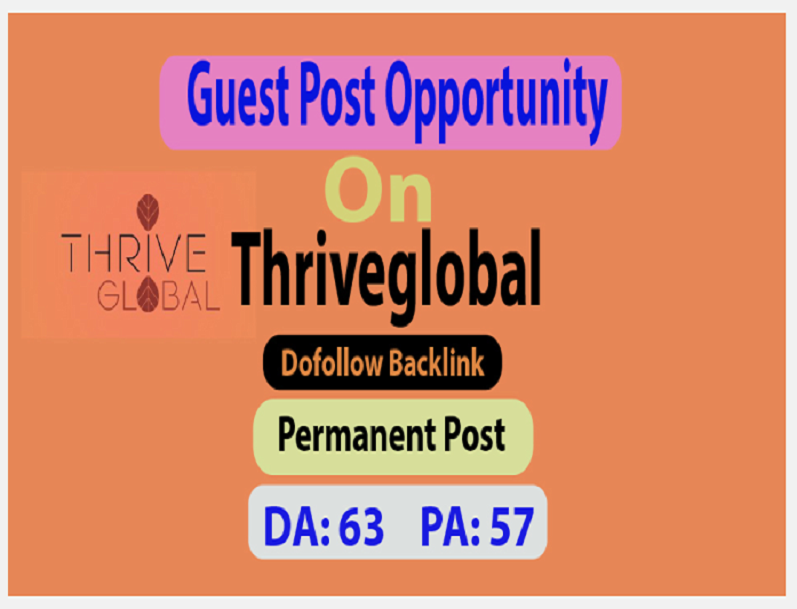 Make Live Post Your Content On Thriveglobal Da63