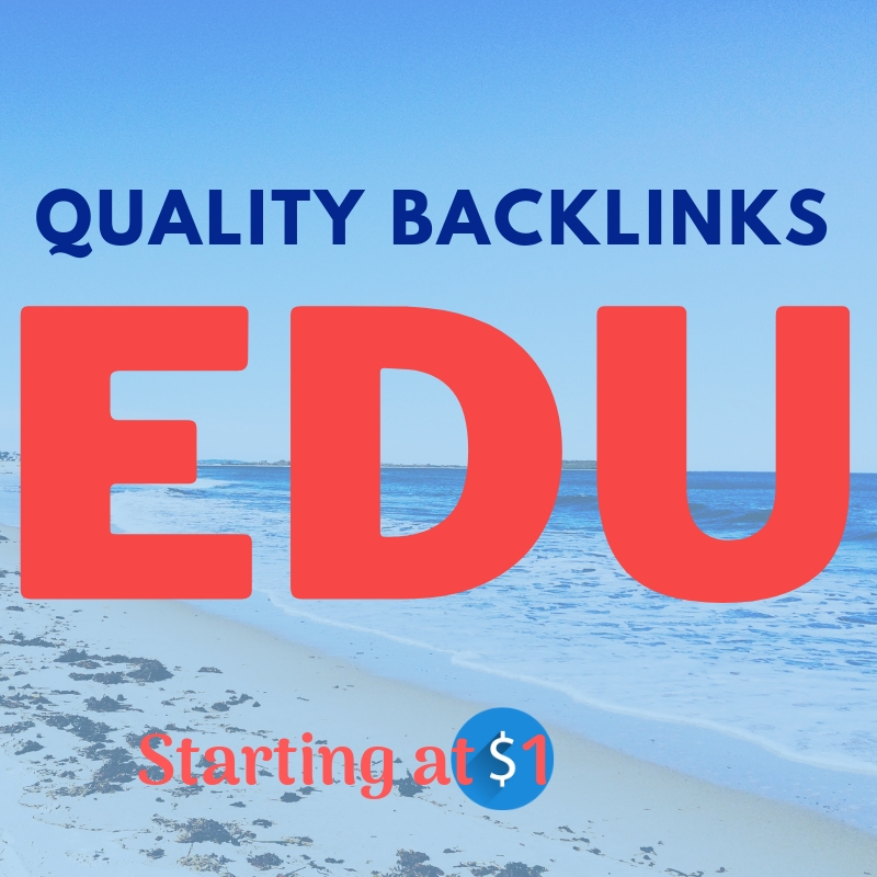 100+ EDU Backlinks to Effectively improve Your Website Ranking Buy EDU Link Only