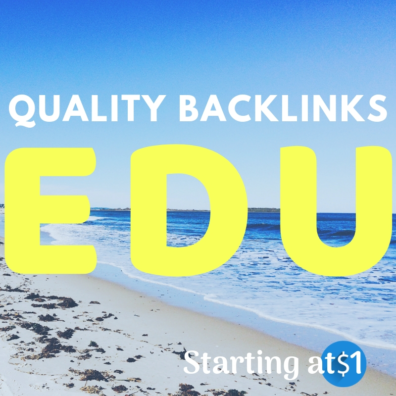100+ EDU Backlinks to Effectively improve Your Website Ranking Buy EDU Link  Only for $4