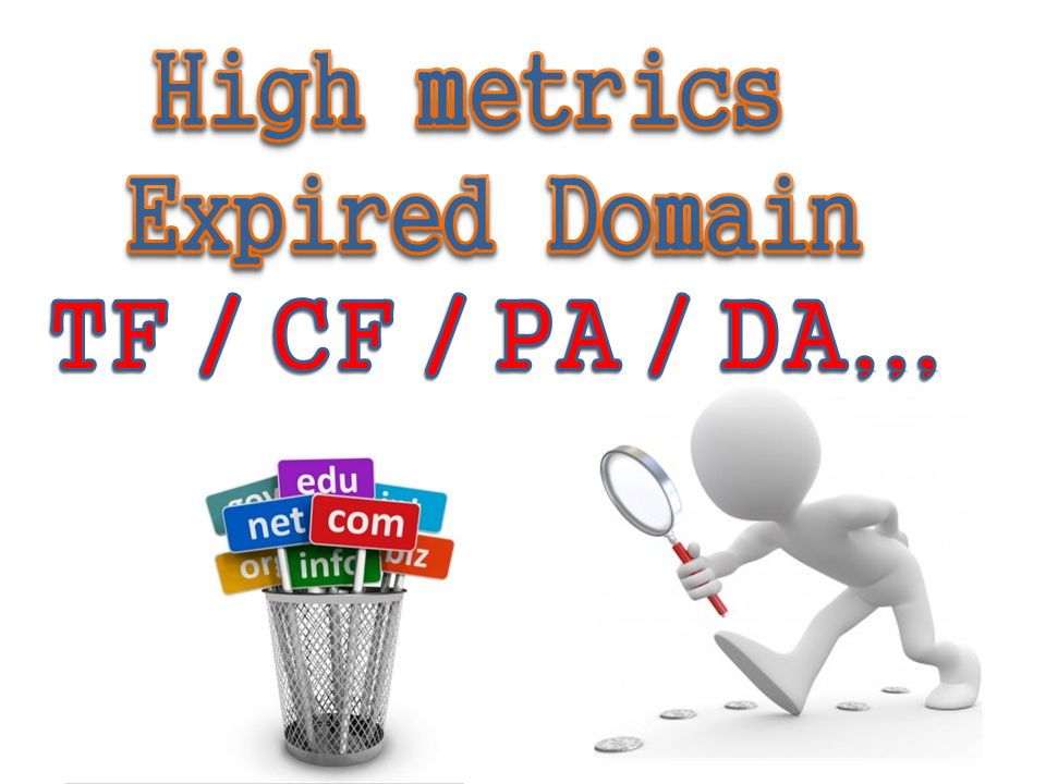 Research the best expired domain for you.