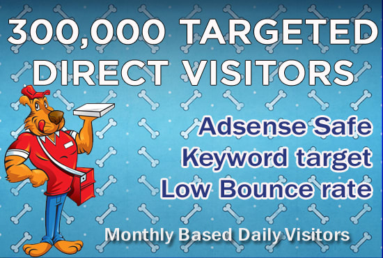 Send 300,000 USA Traffic,  Website Visitors,  From Search Engines
