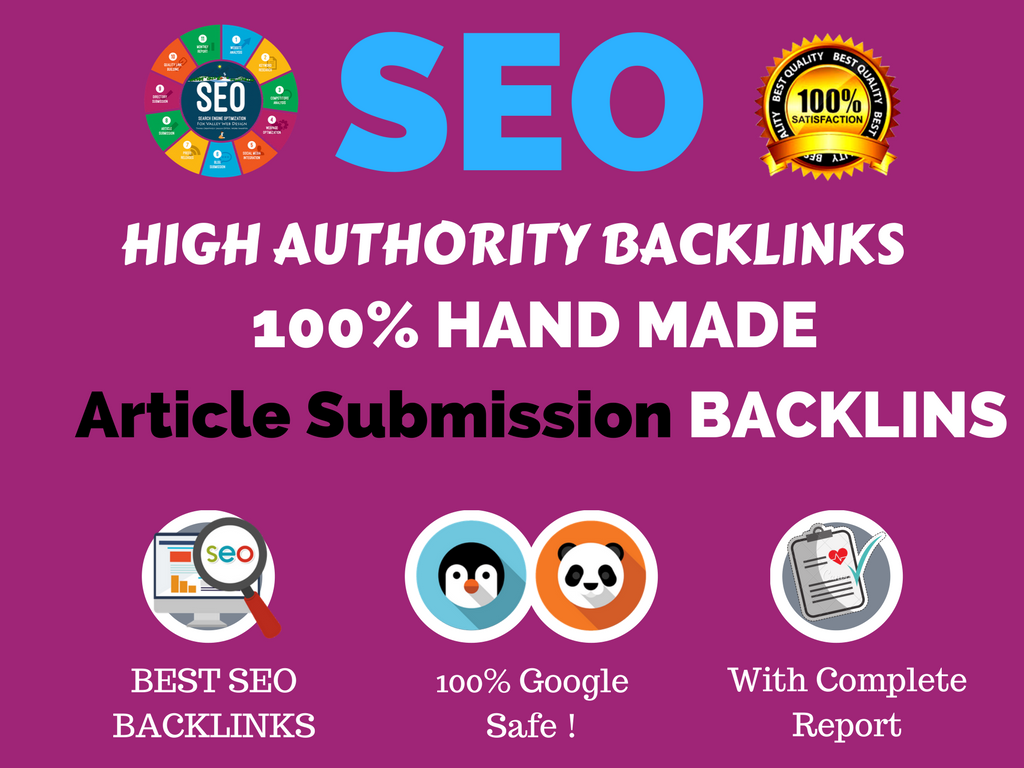 I Do Manual Publish Article On 30 Article Submission On Da50 With Dofollow  Links  for $4