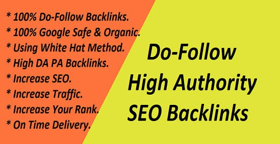 25 High Authority Do-follow SEO Back-links