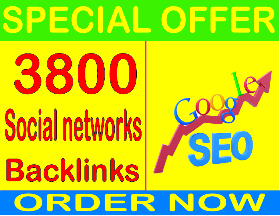 Top SEO Service-2019- I will do 3800 Social networks profiles PR9 Safe SEO High Pr Backlinks