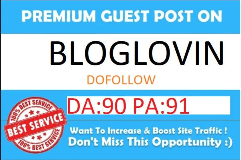 Publish Your Article On Bloglovin