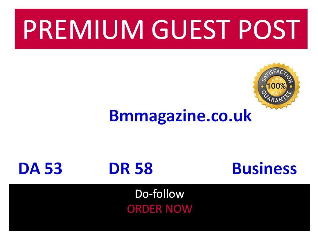 Add A Business GUEST POST ON Bmmagazine. CO. UK BMMAGAZINE 54