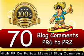 Provide 70 Dofollow Blog Comment Backlinks High Quality General Sites
