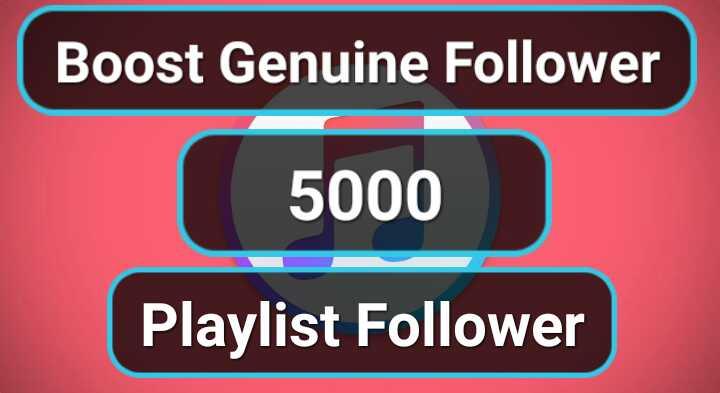 Get SUPER FAST- 1000 Organic profile Playlist Music Artist followers