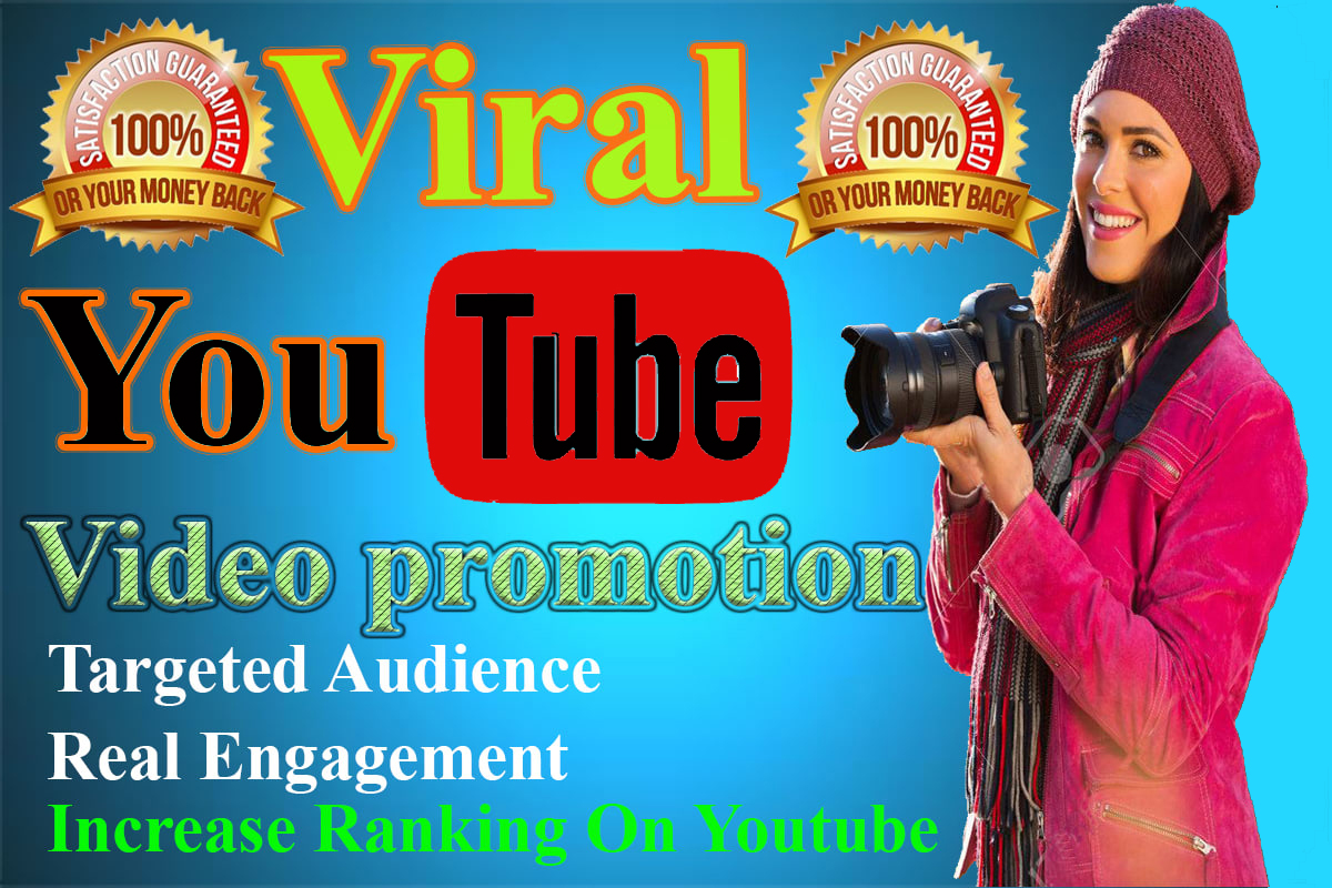 Organic Youtube Video Safe marketing promotion