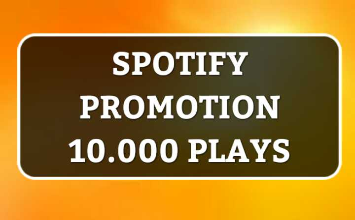 Promote 10,000 Streams for your Music playlist track