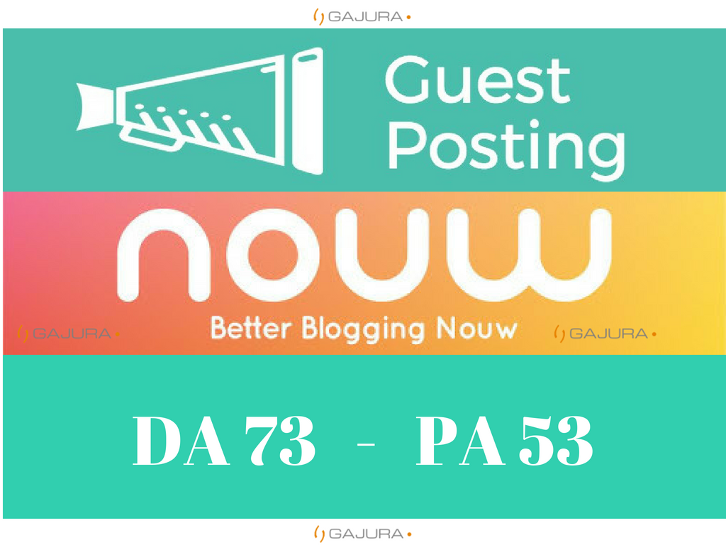 Write and guest post nouw. com DA 60
