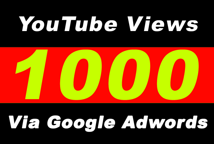 Youtube Video Promotion 1000 Audience Via Google Adwords