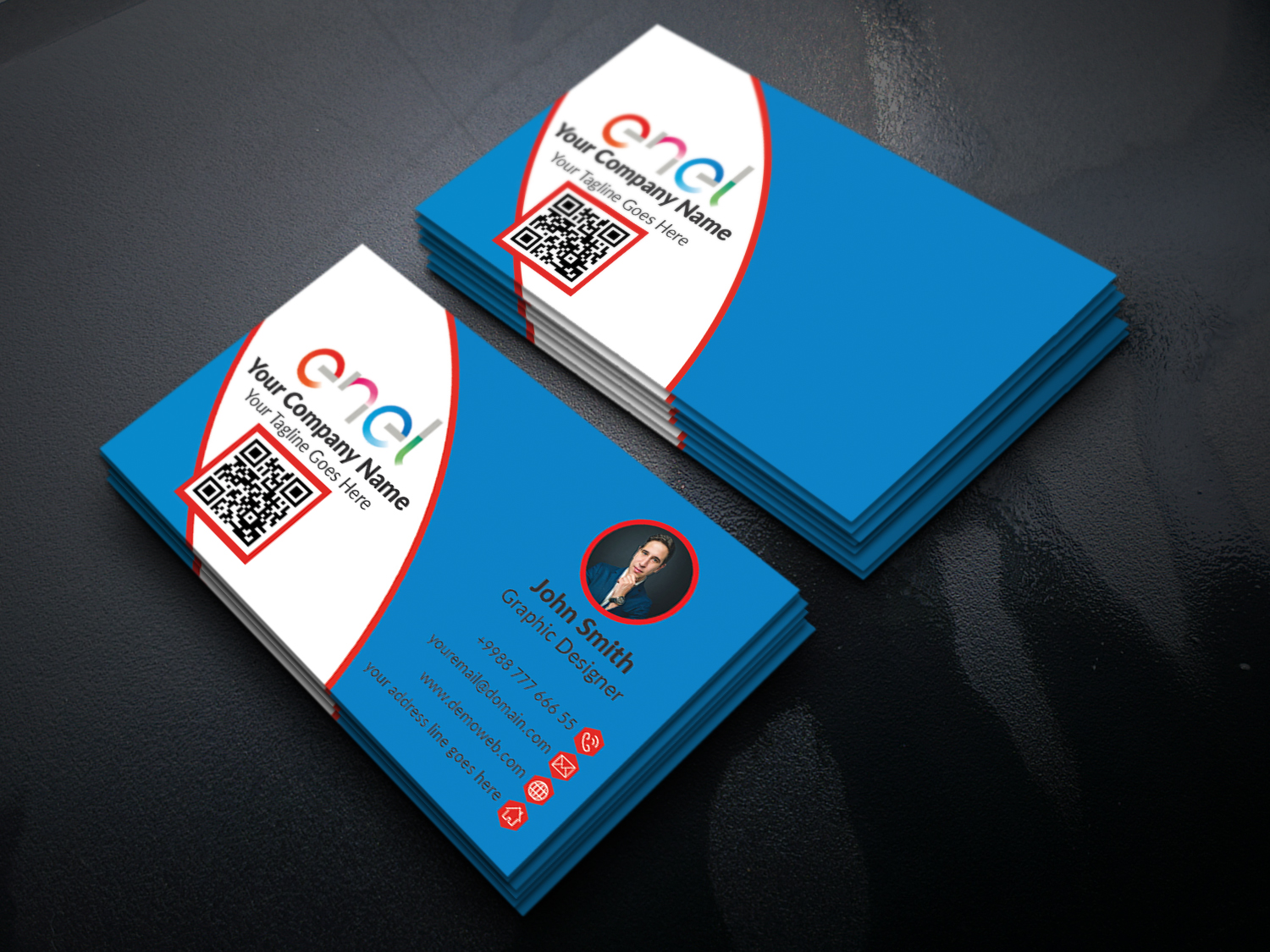 Create A Business Card And Stationery Designs Within 5 Hours