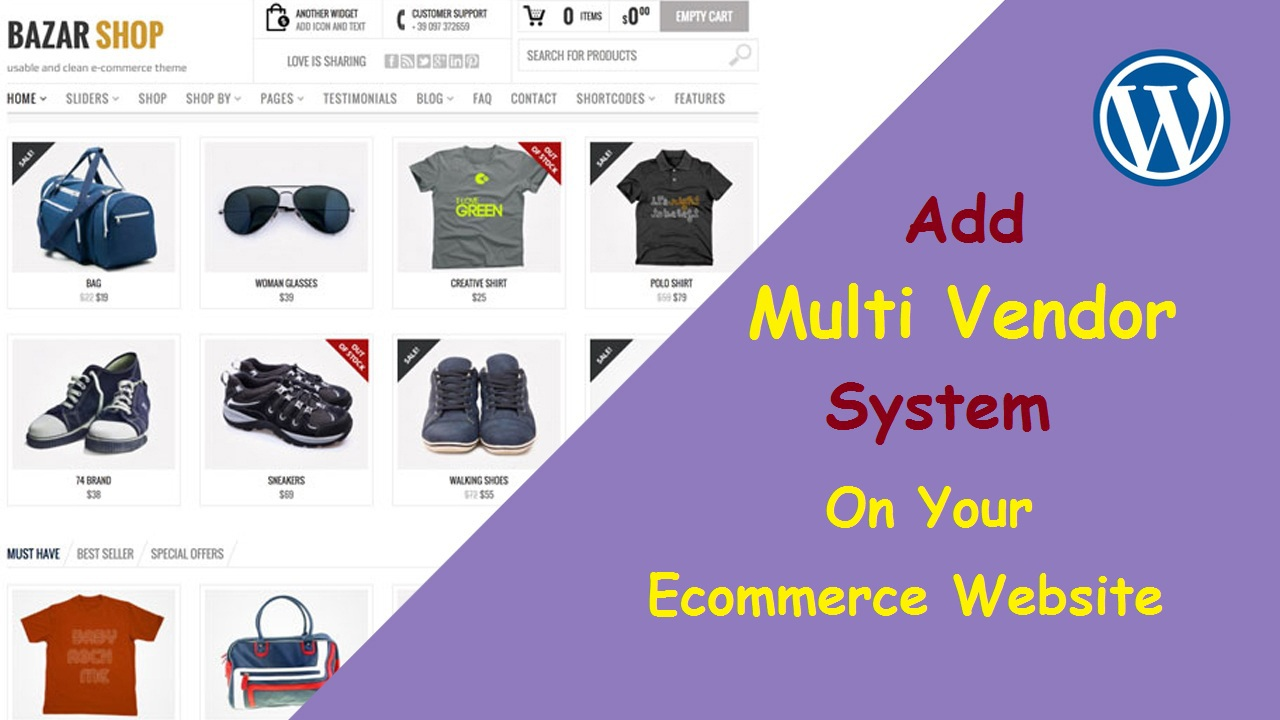 Add Multi Vendor System On Your Wordpress Website
