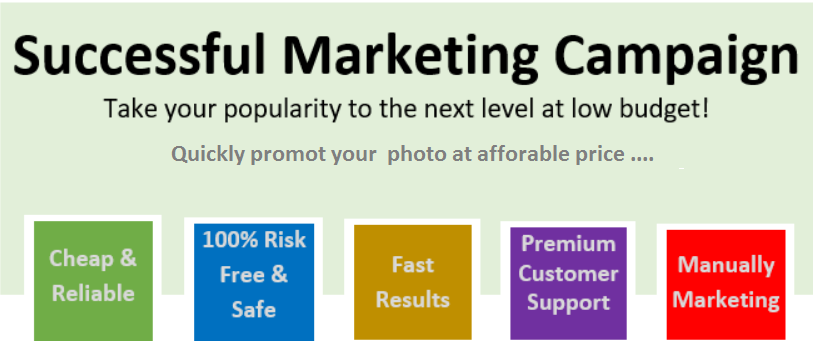 Successful photo marketing plan - Pack 1100