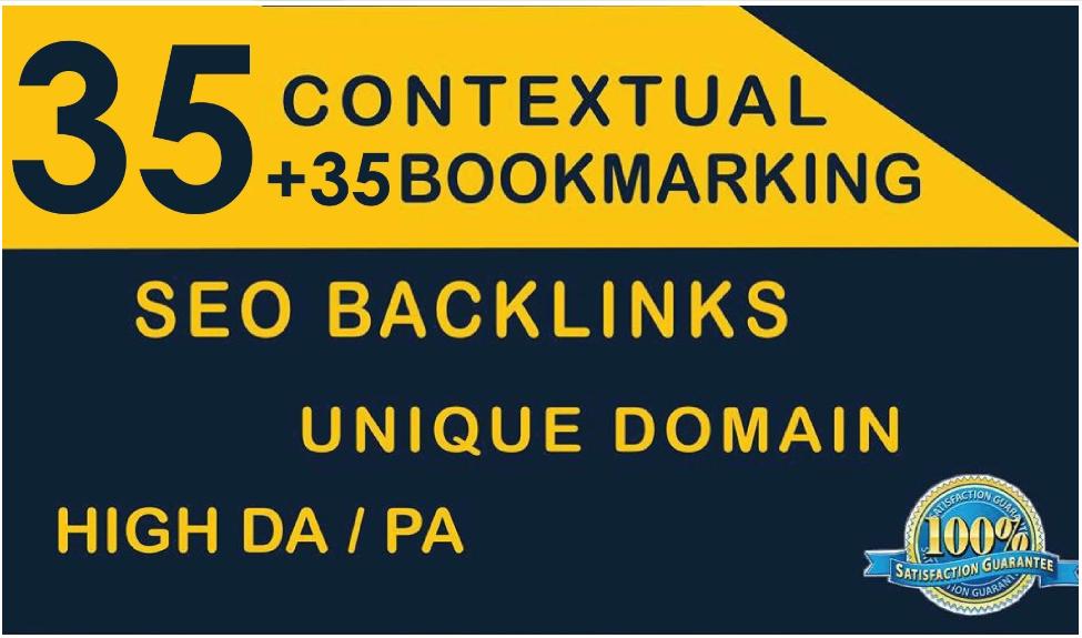 Do 35 Contextual And 35 Bookmaking High Da Pa