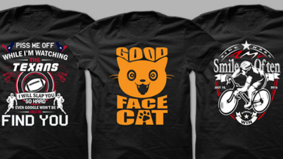 Awesome T Shirt Design With Your Idea