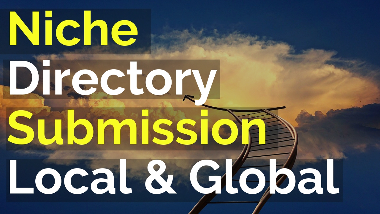 20 local and global directories submissions manually listing