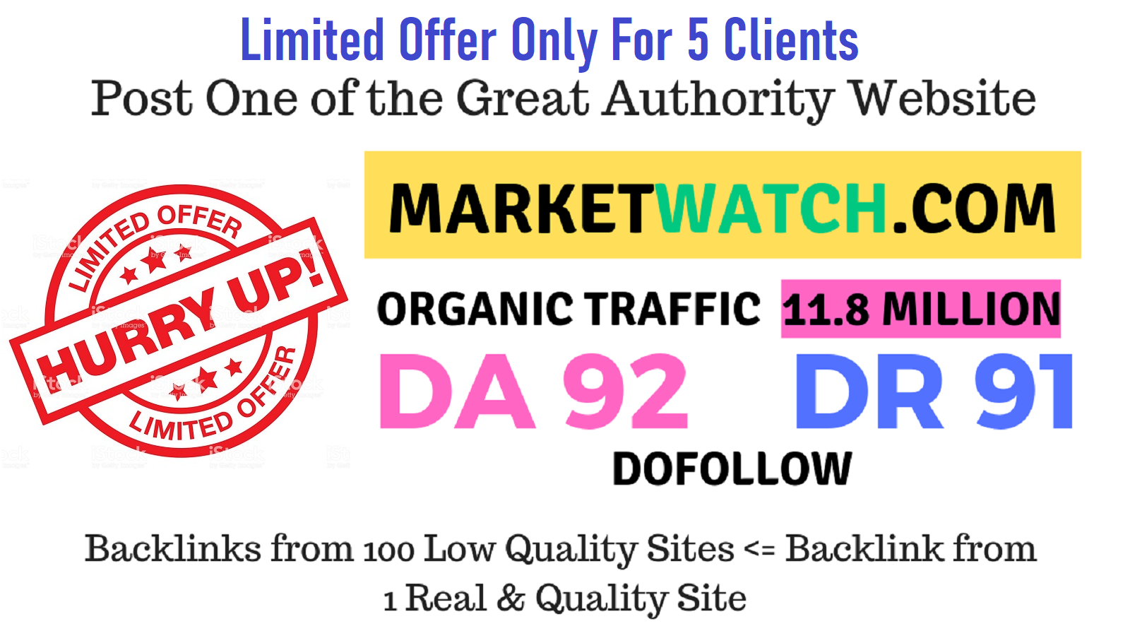 Publish Do Fo-llow Guest P0st On Marketwatch. com Da92 Limited Offer for 10 Clients