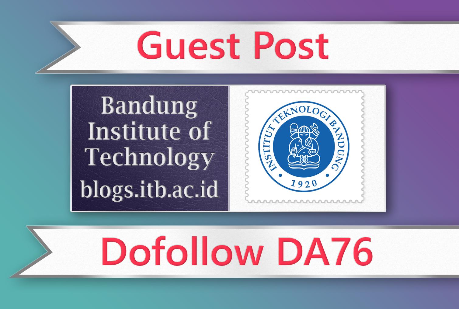 Guest post on Bandung EDU - DA76