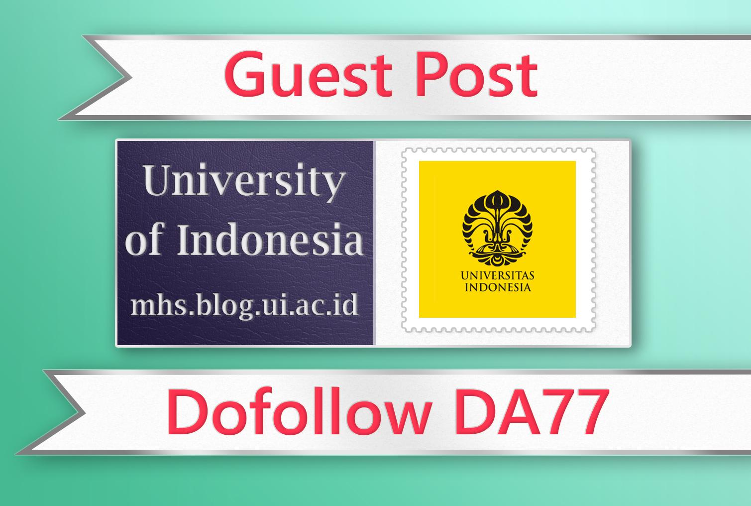 Guest post on Indonesia EDU - DA77