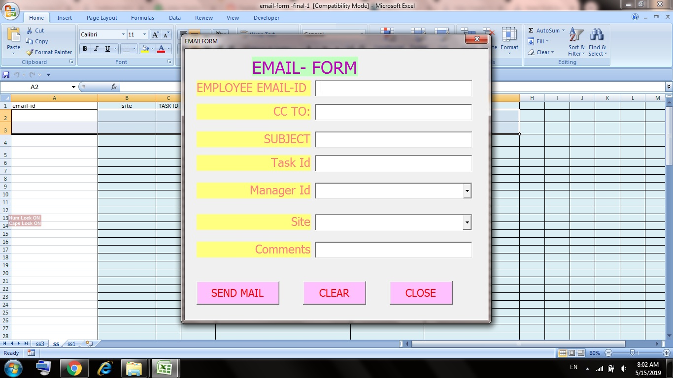 I am good at Excel Automation by using Vba Programming