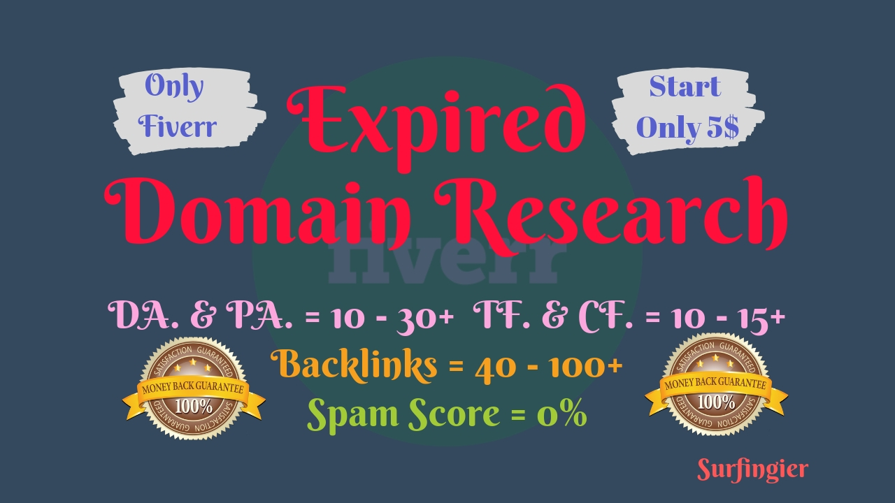 Best Expired Domain Research