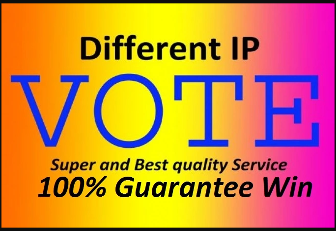 Get 250 Different IP Votes In Your Contest
