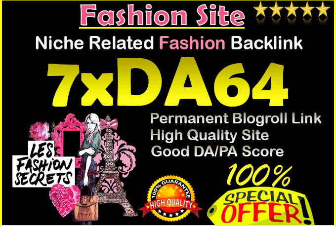 give link da64x7 site Fashion niche blogroll permanent
