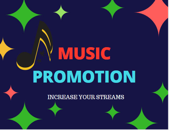 Organic Music Track Promotion To Increase Streams