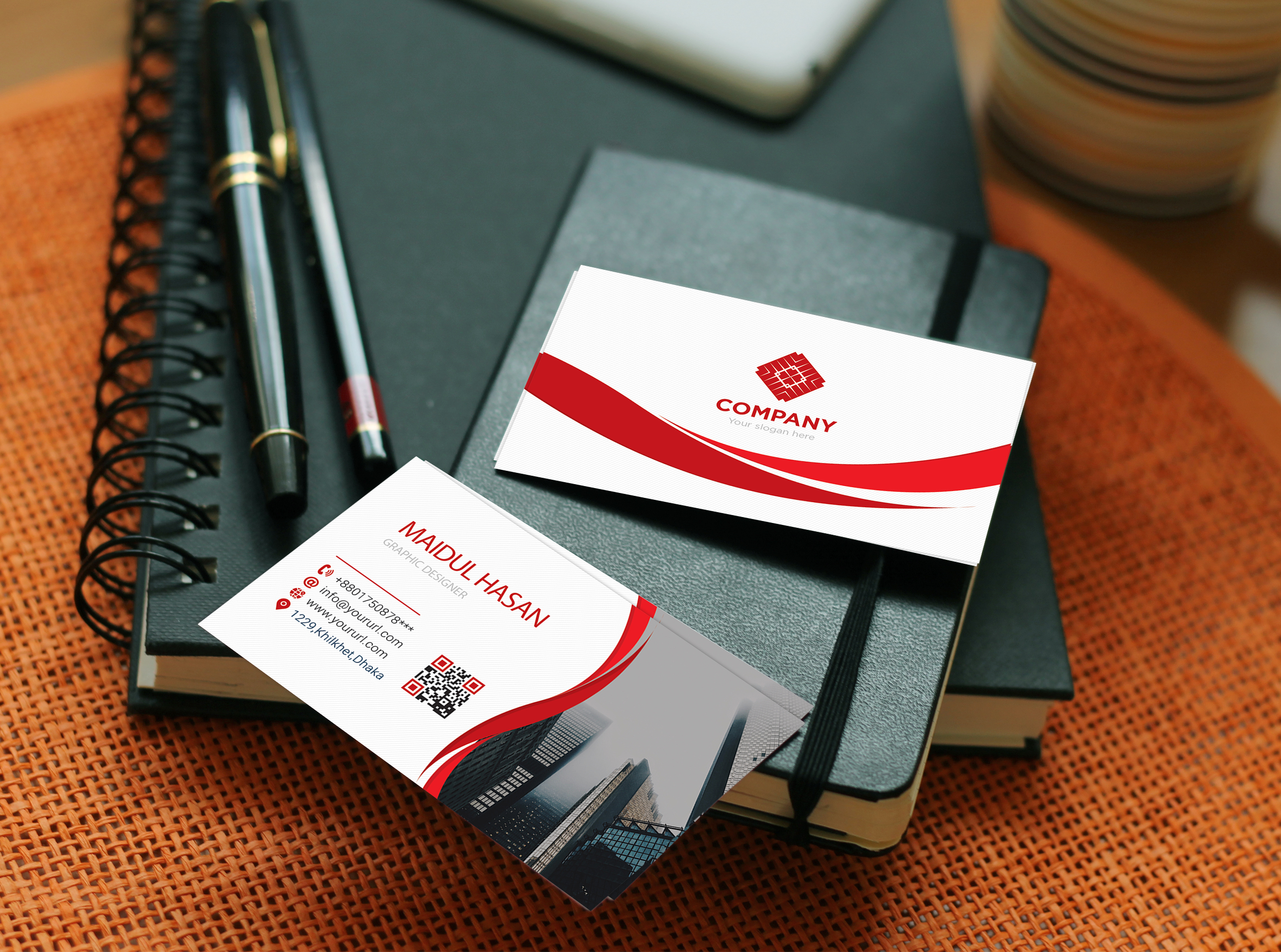 Design unique business card within 24 hours
