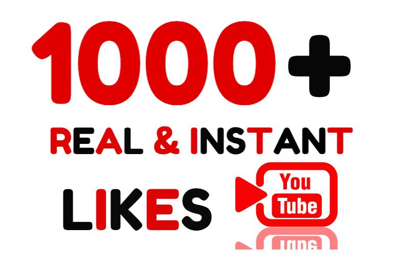 Add Super Instant 1000+ Real Youtube Lik es