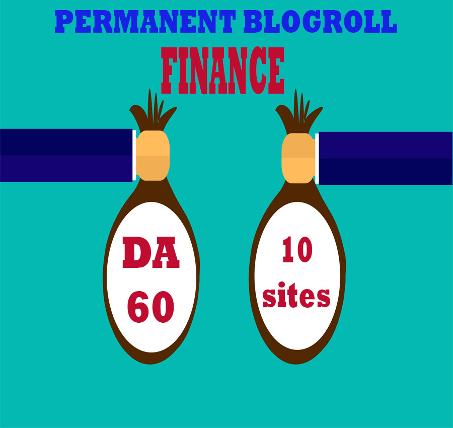 Give Link Da60x10 HQ Site Finance Blogroll Permanent