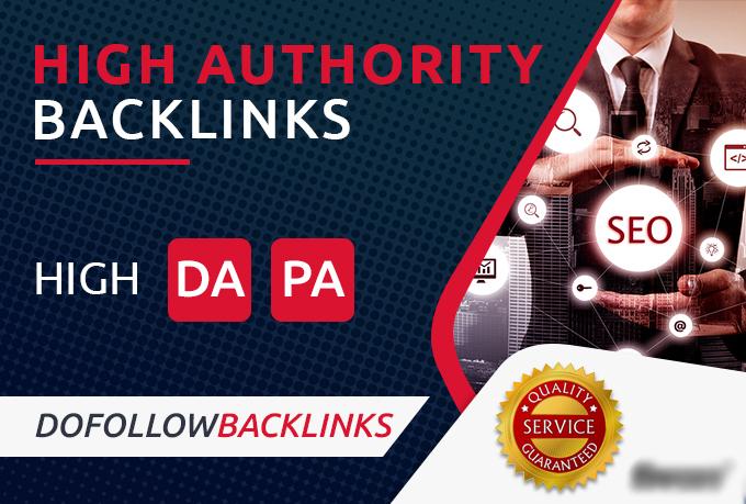 Create 10 Dofollow Pr9 Da 90 Profile Backlinks Manually