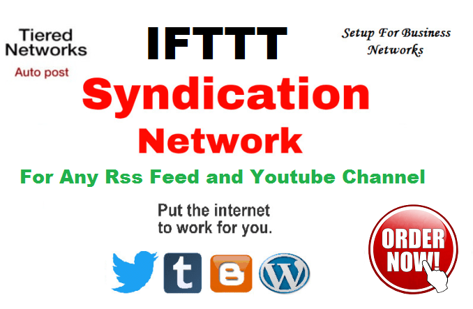 Create Marvellous IFTTT Syndication Network For Any Rss Feed