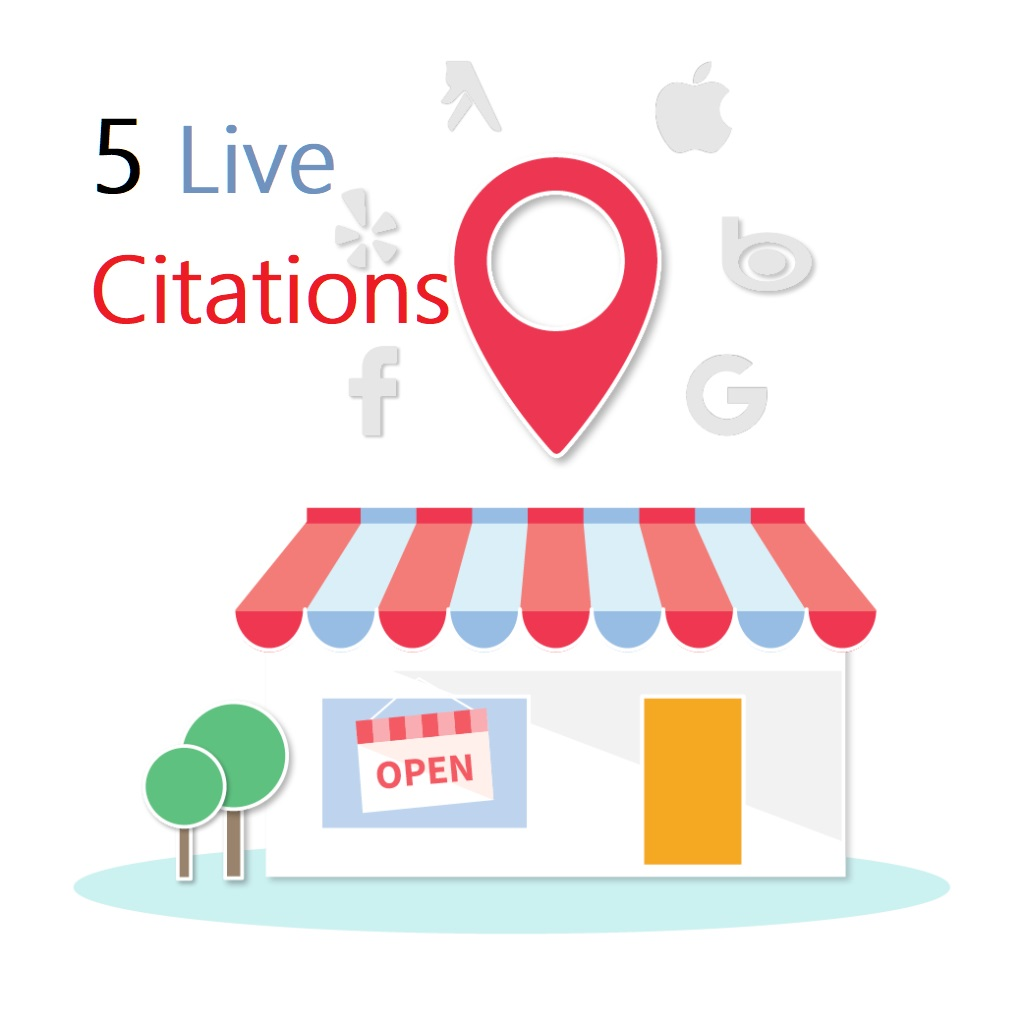 Create 5 Live Citations for Your Business