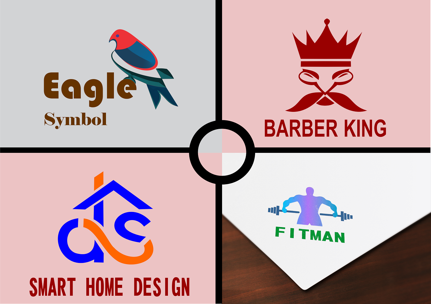 Create Minimalist Logo Design With In 24hrs